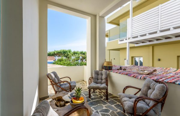 Two bedroom apartment with balcony and semi sea view header