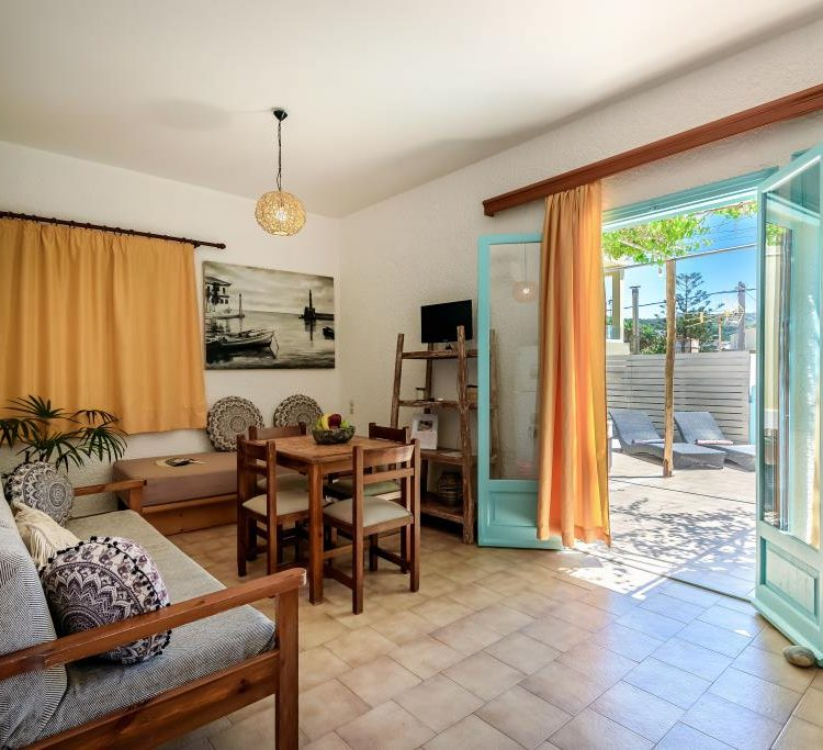 One bedroom apartment with terrace 2